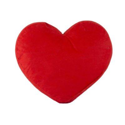 Cuscino di cuore rosso