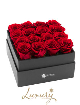 Flower Cube di Rose Rosse
