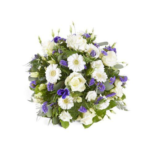 Consegna fiori per funerali, composizioni funerarie con consegna in chiesa