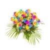 Rose-rainbow-Pride-Bouquet per gay lescbiche ed LGBT