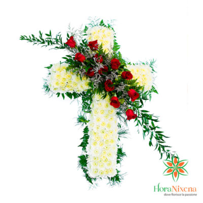 Croce Funebre Bianca